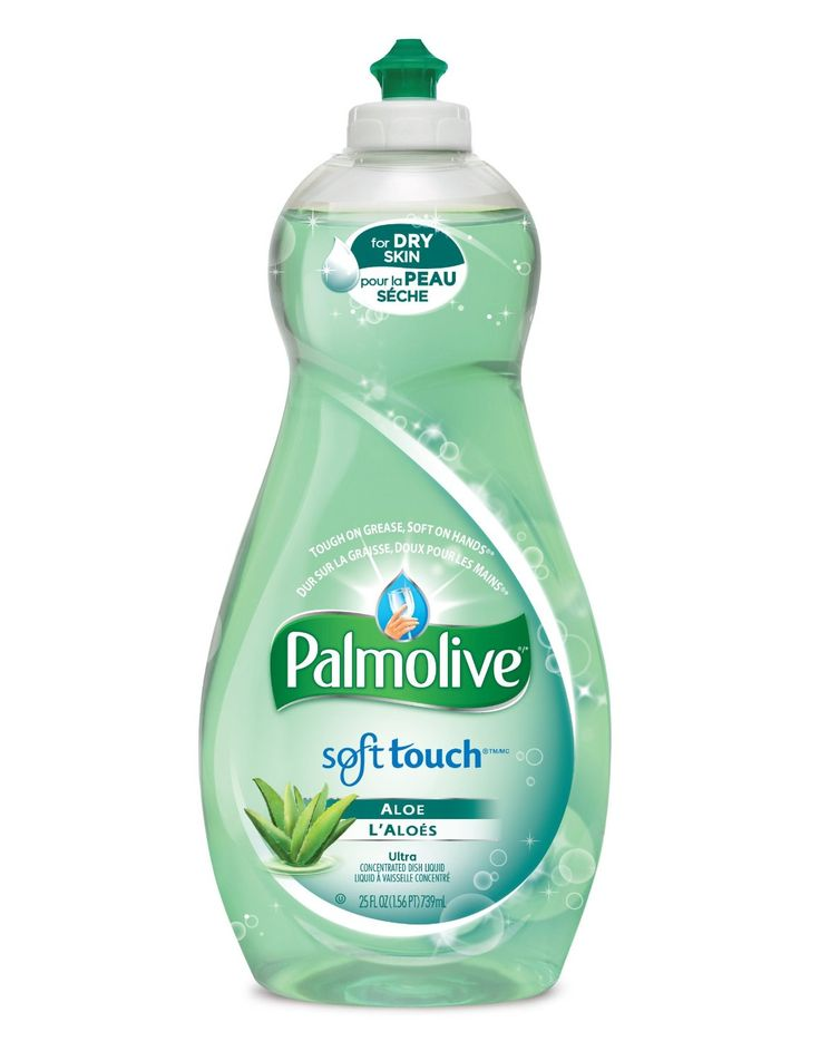Palmolive Ultra Soft Touch Aloe Dish Detergent