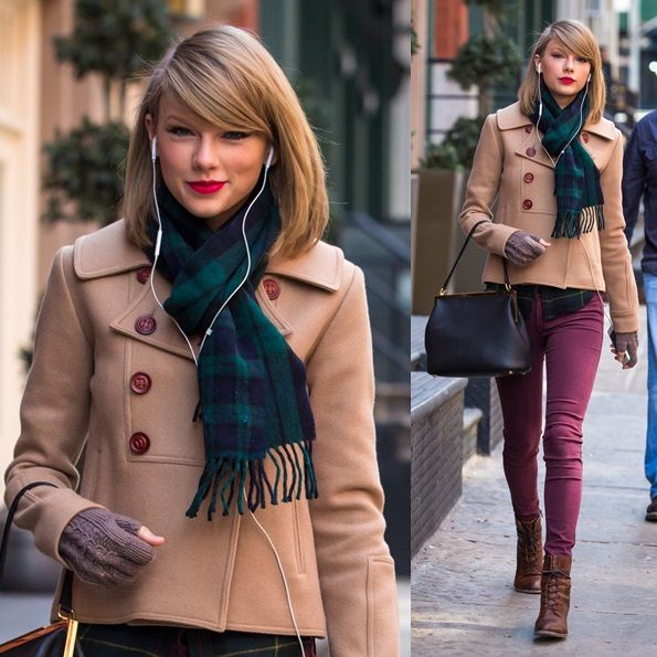 Taylor Swift Stays Scarf-Tastic While Shopping at Steven Alan