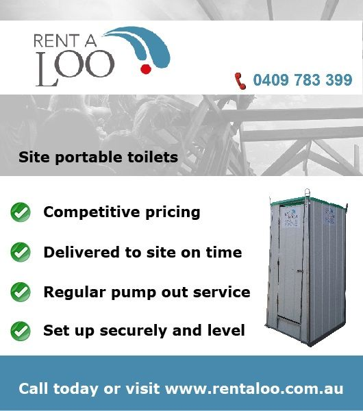 Best alternative to Portaloo. Site toilets