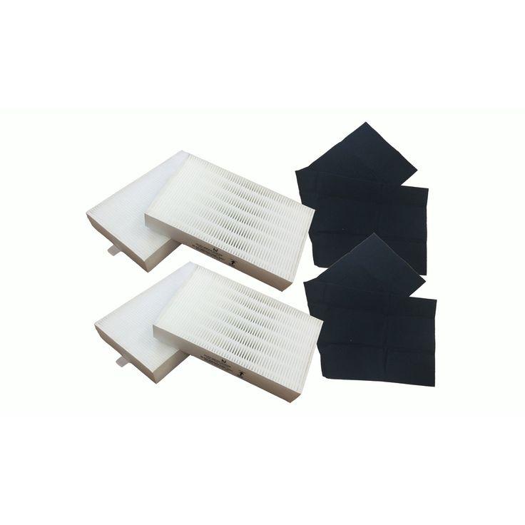 Crucial Honeywell 'R' White Carbon Air Purifier Filters (air filter)