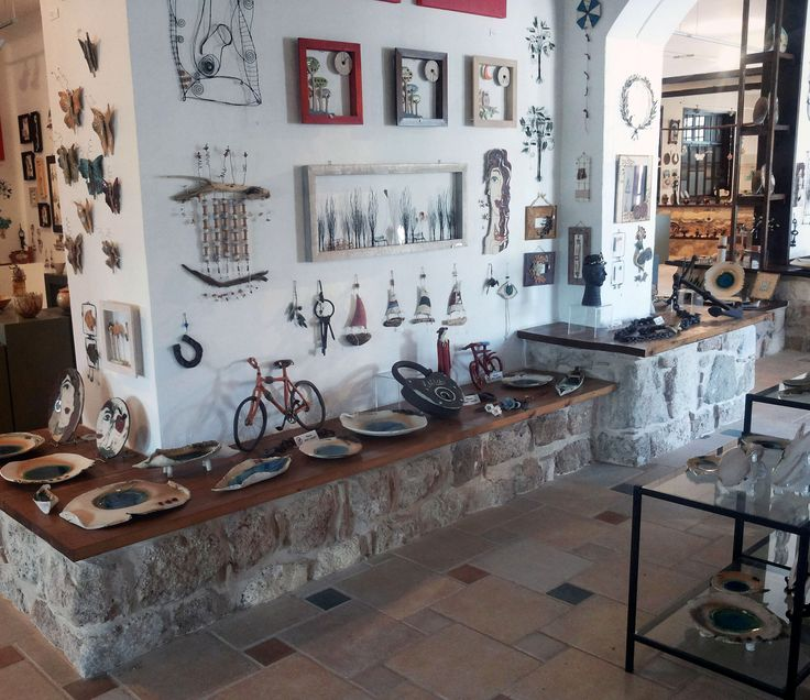#Artistic Village Contemporary Art #Rhodes #Greece #handmade #gallery #original #unique #interior