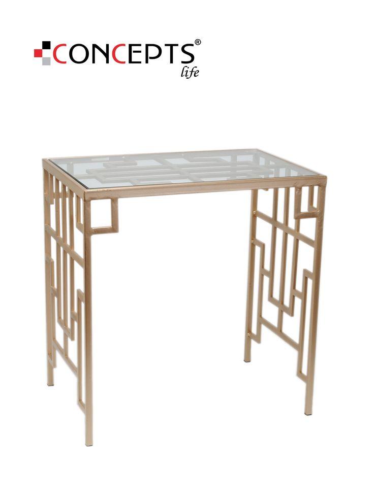Esta mesa es una excelente opción tanto como para dar la bienvenida en tu sala, como para crear una alcoba de artista en tu habitación.