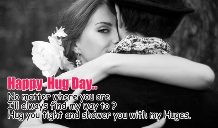 Happy Hug Day Wishes
