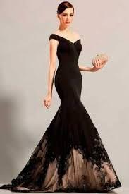 Resultado de imagen para vestidos largos corte sirena con encaje