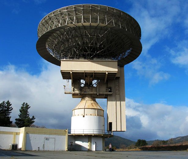 The Jamesburg Earth Station is a massive satellite receiver in a remote valley in California. It played a central role in satellite communications for three decades, but had been forgotten until the current owner put it up for sale, promoting it as a great place to spend the apocalypse.