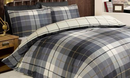Soft and cosy, this range of flannelette bedding is crafted with closely woven cotton to trap warmth; feel snug as a bug in bed