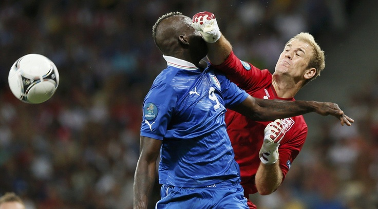 Fotos del Italia-Inglaterra:  Eurocopa 2012
