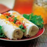 Leave it to Aunt Tula to whip up this scrumptious dish served in burritos.      Used 6-quart slow cooker