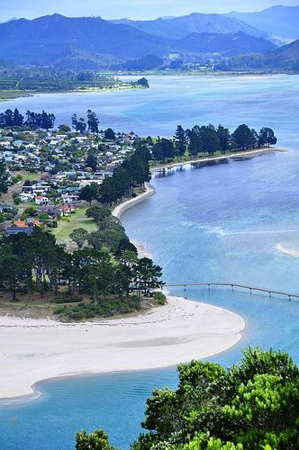 Pauanui, and it's near neighbour Tairua, in Coromandel, are both such beautiful places, New Zealand
