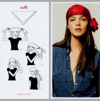 Head scarf how to manual my style pinterest tuch - Hermes tuch binden ...