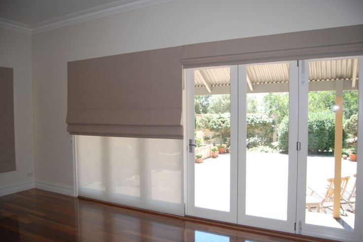 Roller Blinds With Roman Blinds Blinds Pinterest