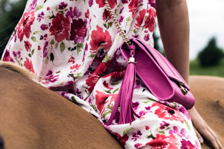 FIFTH MAY Chiara shoulder bag fuchsia  www.the-fifth-may.com