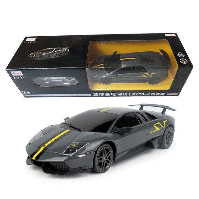1:24 Licensed Rastar RC Cars Remote Toys Radio Controlled Machines Boys Gifts Kids Toys Murcielago Limited Машина Дистанционное Управление