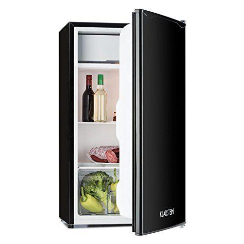 nice Klarstein Spitzbergen Nevera con congelador (capacidad 90 litros, clase energética A+, refrigerador compacto) - Negro Mas info: http://comprargangas.com/producto/klarstein-spitzbergen-nevera-con-congelador-capacidad-90-litros-clase-energetica-a-refrigerador-compacto-negro/