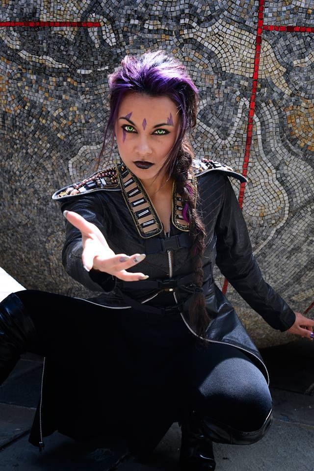 COSPLAY: Soni Aralynn As Spider-Man, Dazzler & Blink From X-MEN: DOFP