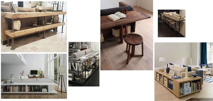 DIY: Bygga bord eller hylla bakom soffan
