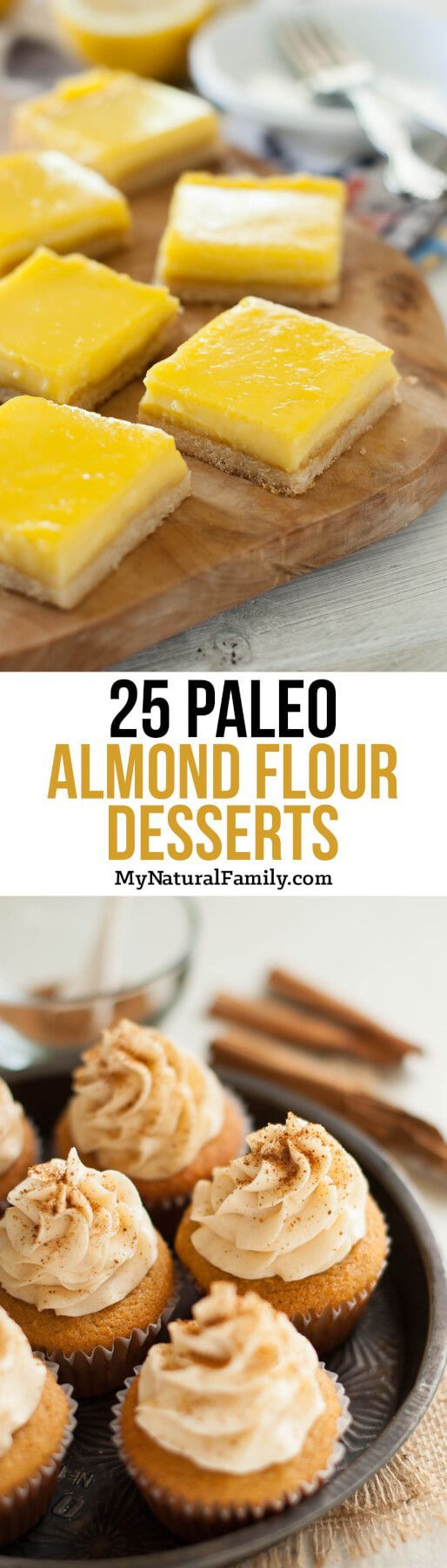 Paleo Almond Flour Dessert Recipes