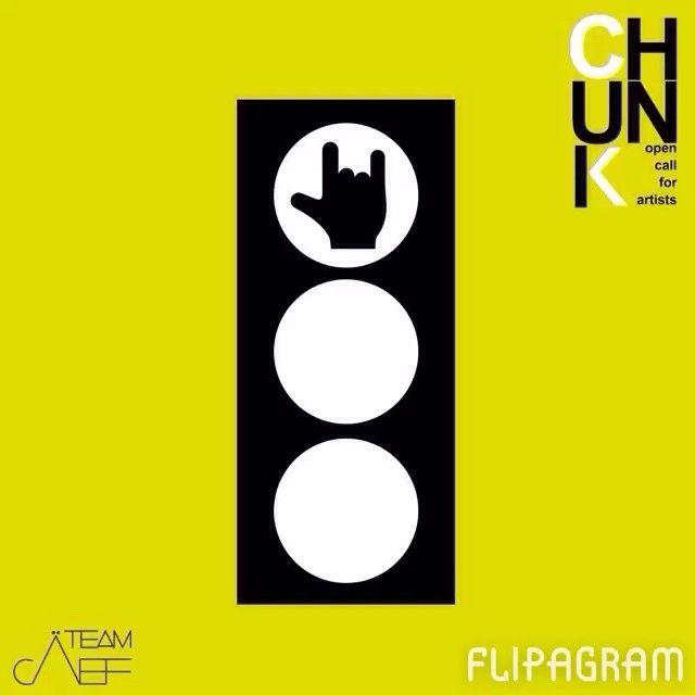 All'avvicinatsi di #chunk, anche i semafori si trasformano! Le parole di oggi: #rock #luck #like #flipagram #chunkè #teamcaef #trafficlight #green #yeah