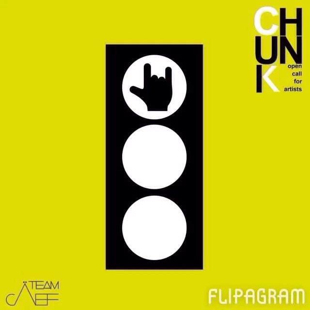 All'avvicinatsi di #chunk, anche i semafori si trasformano! Le parole di oggi: #rock #luck #like #flipagram #chunkè #teamcaef #trafficlight #green #yeah