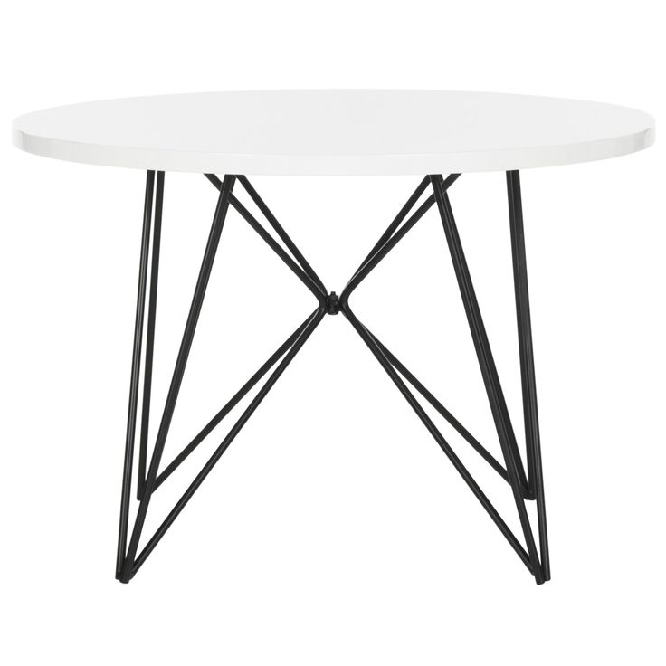 Safavieh Vida Lacquer / Black End Table