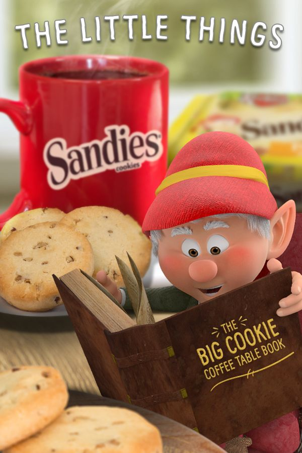 Sometimes it's best to appreciate the little things in life. For me, those things are a cup of coffee, some light, buttery Keebler Pecan Sandies Shortbread cookies, and a good book!