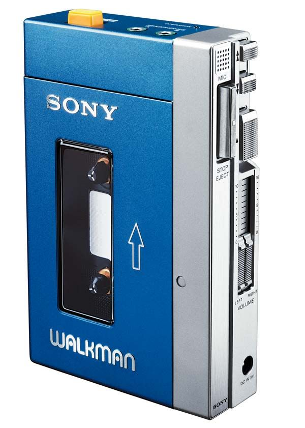 Walkman. Mine was red and black
