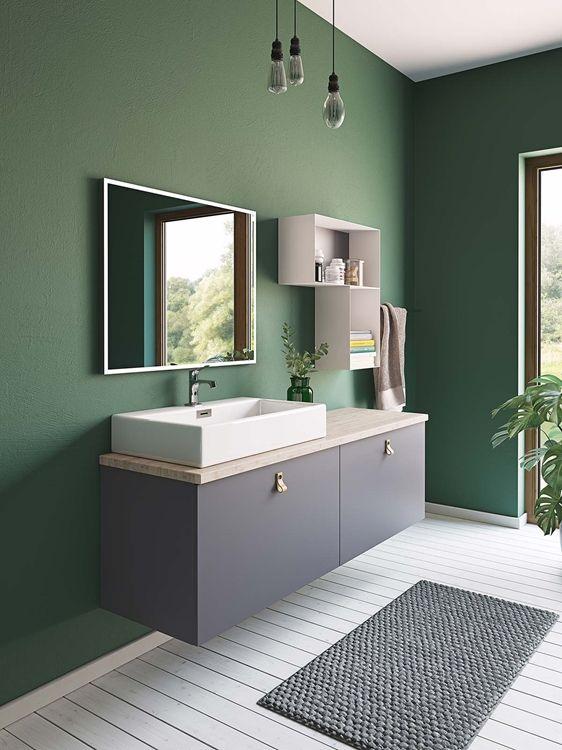 Vask + benkeplate løsning