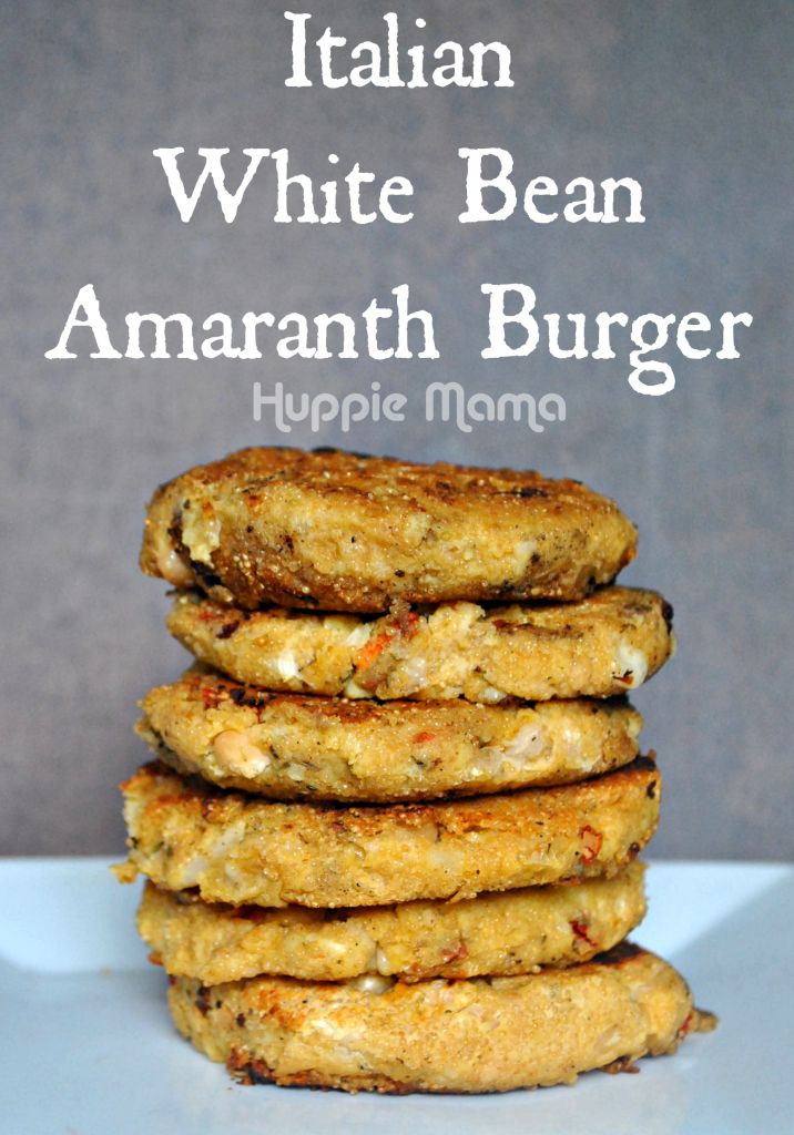 Tuscan White Bean Burgers Recipe — Dishmaps
