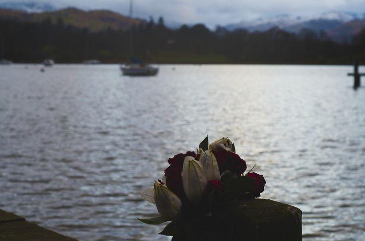 Flowers at Lake Windermere