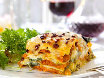 Cheesy Pumpkin Lasagna
