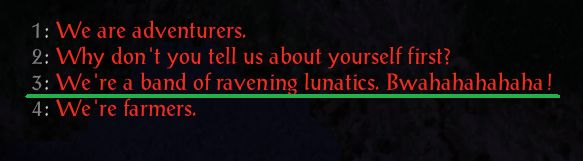 [Baldur's Gate]I need this to be a dialogue option in every dialogue tree in every game. Old games need to be patched to have this immediately.