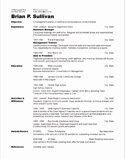 volunteer experience on resumes
