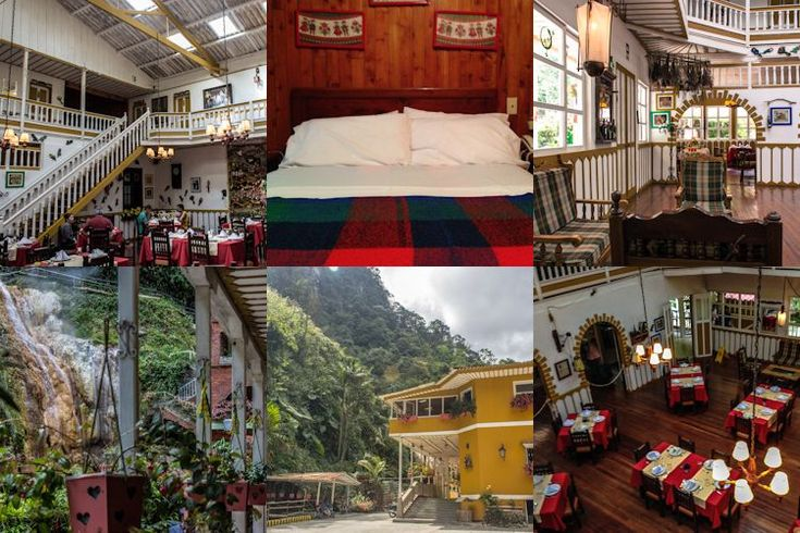 Relax y lujo en Risaralda: aguas termales y hacienda centenaria