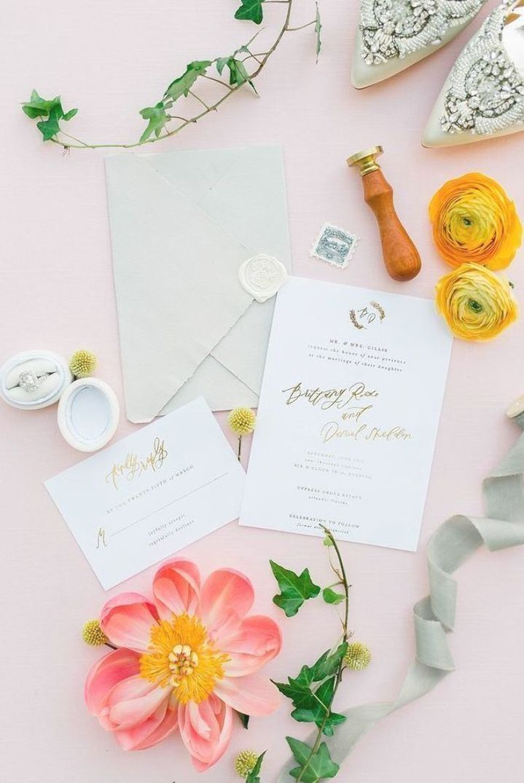 Nicole Matt Luxury Cypress Grove Estate Inspirational Wedding Stationary We Modern Wedding Invitations Wedding Invitations Stationery Wedding Stationery