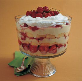 Strawberry And Cream Trifle Everyone Should Invest In A Bowl