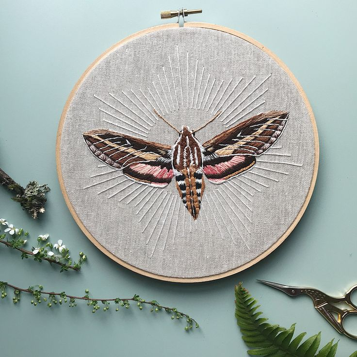 """303 Likes, 20 Comments - Wildwood Needle & Craft (@carazuri) on Instagram: """"hints of spring and better days. white lined sphinx moth baby is done and posted in the shop. you…"""""""