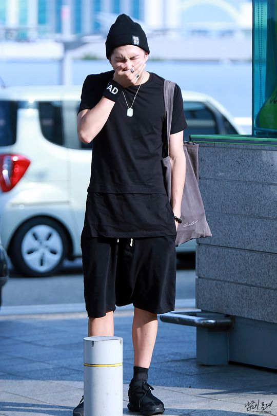 [AIRPORT] 150806: BTS Rap Monster