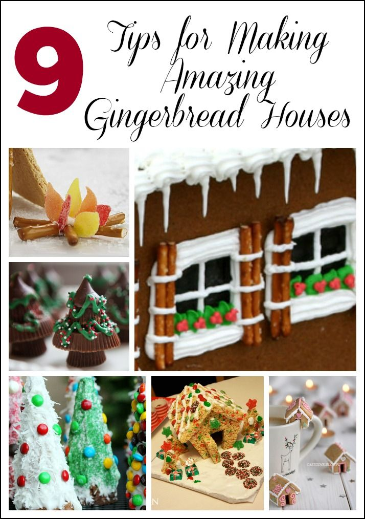 9 Tips for Making Amazing Gingerbread Houses -- Gingerbread houses are a Christmas tradition the whole family can make together. You can keep the activity simple with my Easy Gingerbread house, doctor up a gingerbread house kit, or make one from scratch.