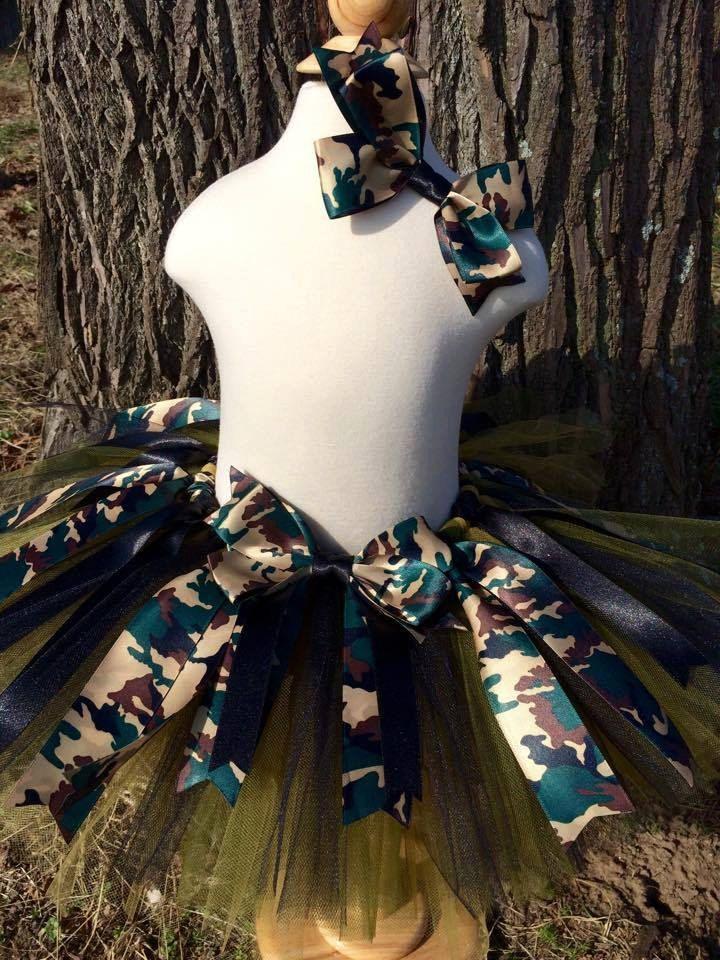 Camo Tutu,Camo Birthday,Camouflage Tutu,Camo Girl Clothing,Army Tutus,Camo…