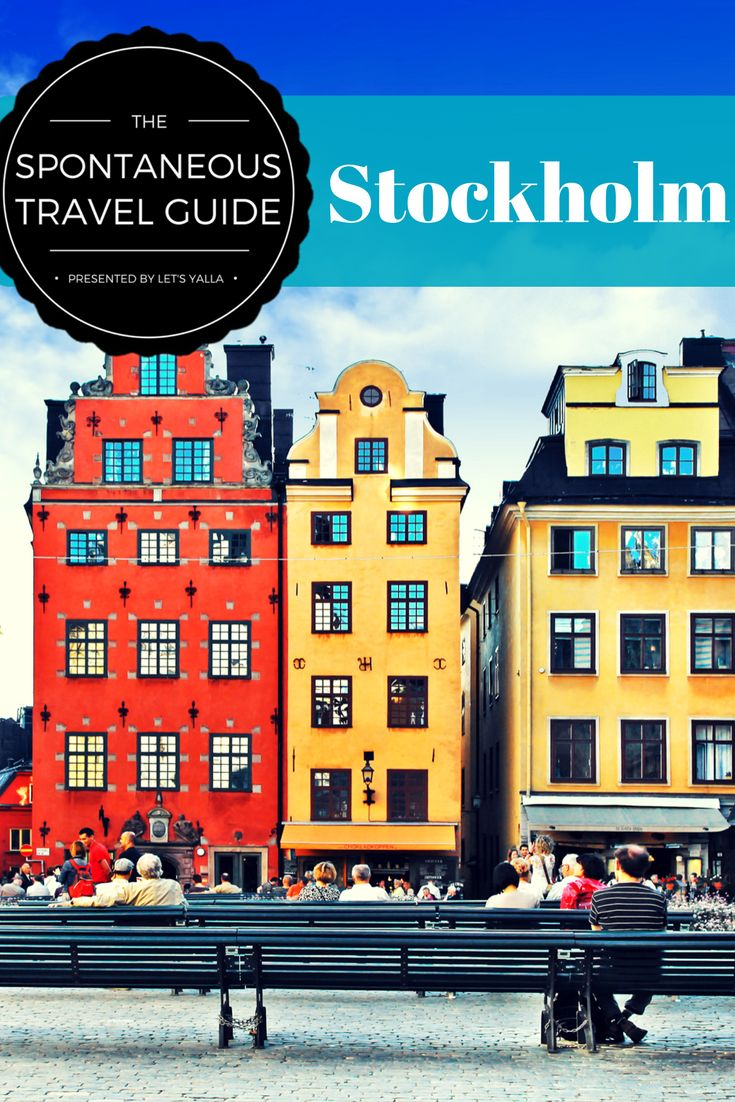 Traveling spontaneously to Stockholm? Save the stress of planning, here come's a city guide that will help you find everything you need.