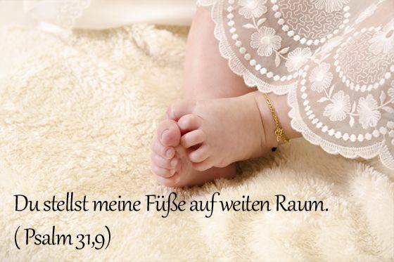 Taufspruch für Jule Psalm 31,9