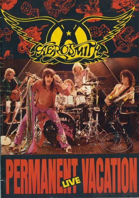 Aerosmith Tour Program https://www.facebook.com/FromTheWaybackMachine