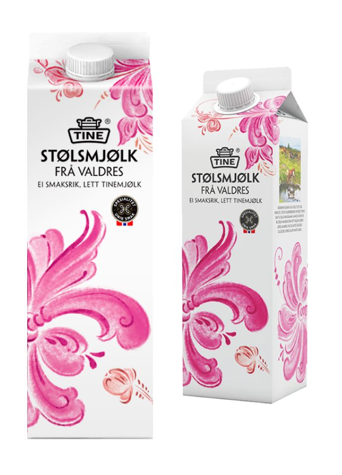 TINE Opprinnelse melk. Milk packaging design @tangramdesign