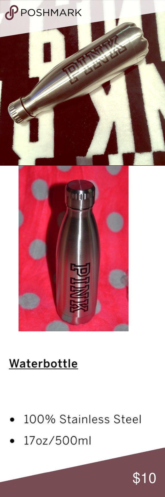 Victoria Secret PINK Metal Water bottle.✨ Victoria Secret PINK Metal Water bottle.✨ Never used. Victoria's Secret Other