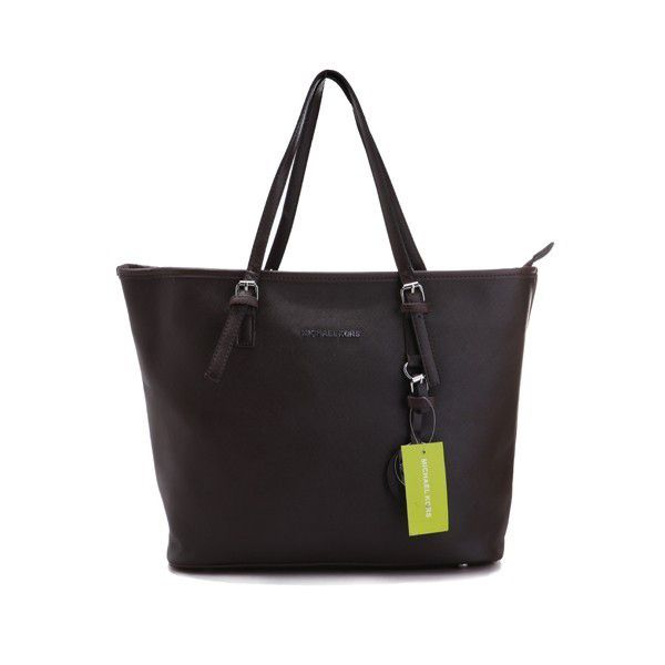 Michael Kors Jet Set Macbook Travel Large Coffee Tote