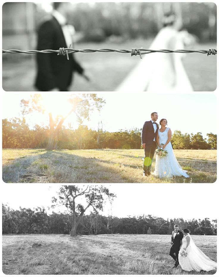 Filming a country wedding means plenty of paddocks, big old trees & beautiful rivers - pretty much everything you need to score some amazing photos from your day - filming late arvo will give you some great sunset flares too