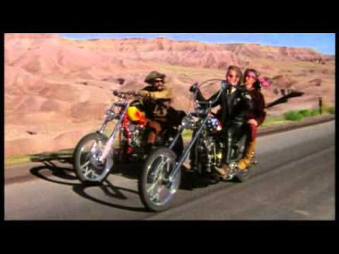 "Fire Lake, from the album ""Against the Wind"" - 1980   clips from:  - Harley Davidson and the Marlboro Man (1991)  - Easy Rider (1969)  - How the West was Won (1962)  - The Shining (1979)"