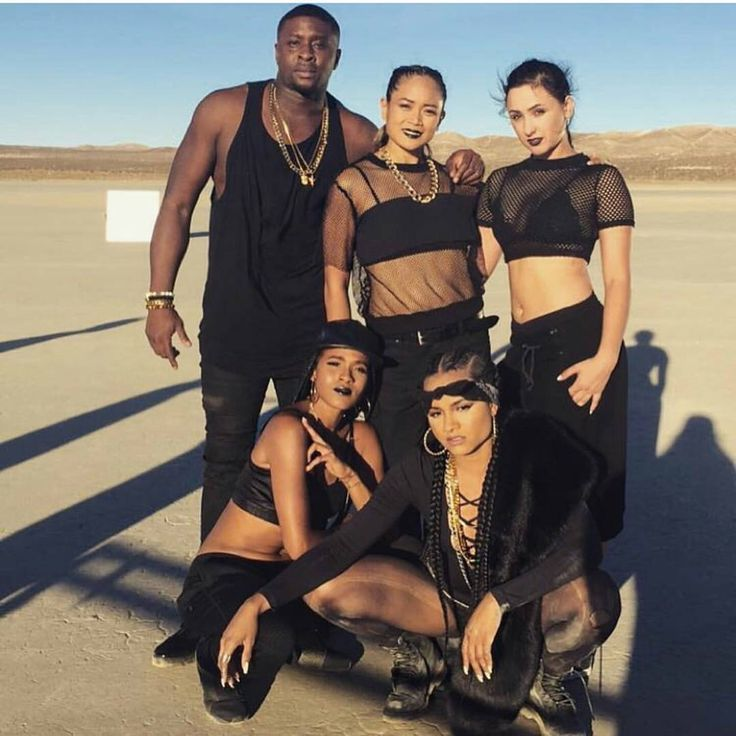 #RhyonBrown (bottom right), star of #SurvivingCompton released a new song #California which samples Tupac & Dr.Dre's #WestCoast classic #CaliforniaLove. To hear the song before she drops the video...[Link in Bio] #Rhyon #Ravaugh #MiChelleToussaint #HarmonySamuels #BlackHollywood #SteppingOutInStyle #ThisIsHipHopCulture