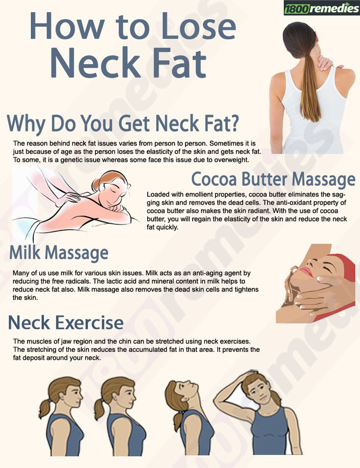 Facial exercises fat