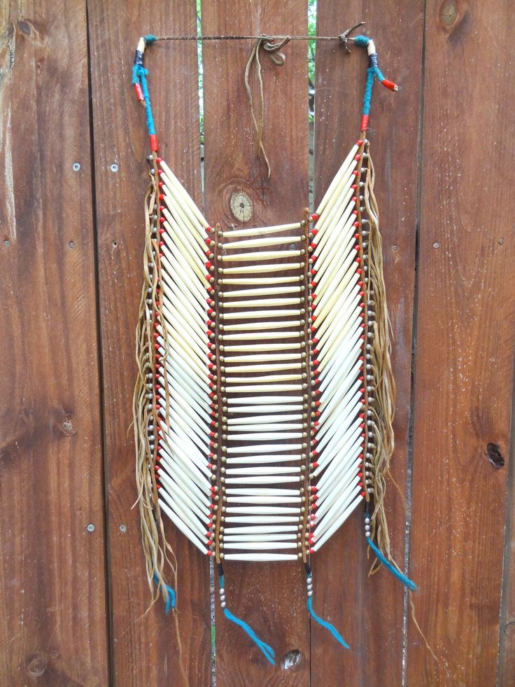 Authentic Vintage Native American Breast Plate/Chest Piece. $145
